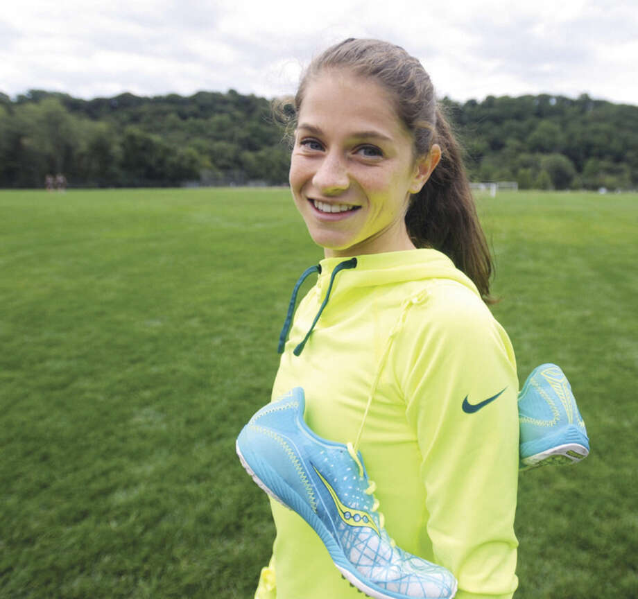 Hour photo/John NashEricka Randazzo is a Norwalk resident who runs for Westhill High School. An injury pushed her to switch from soccer to cross country.