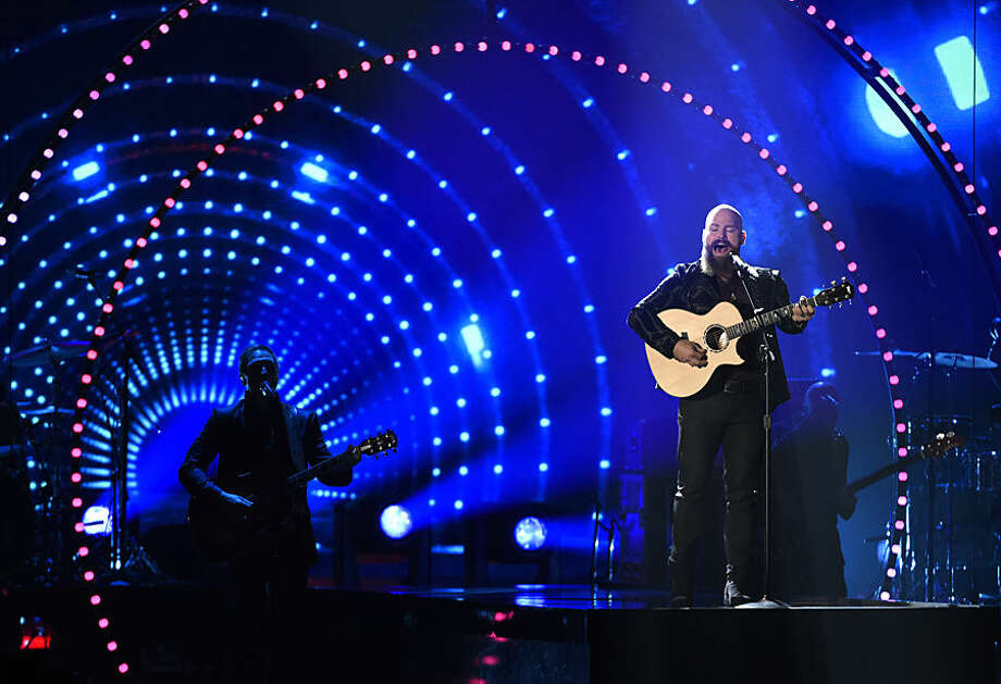 Zac Brown, of the Zac Brown Band, performs a tribute to Little Jimmy Dickens at the 49th annual CMA Awards at the Bridgestone Arena on Wednesday, Nov. 4, 2015, in Nashville, Tenn. (Photo by Chris Pizzello/Invision/AP)