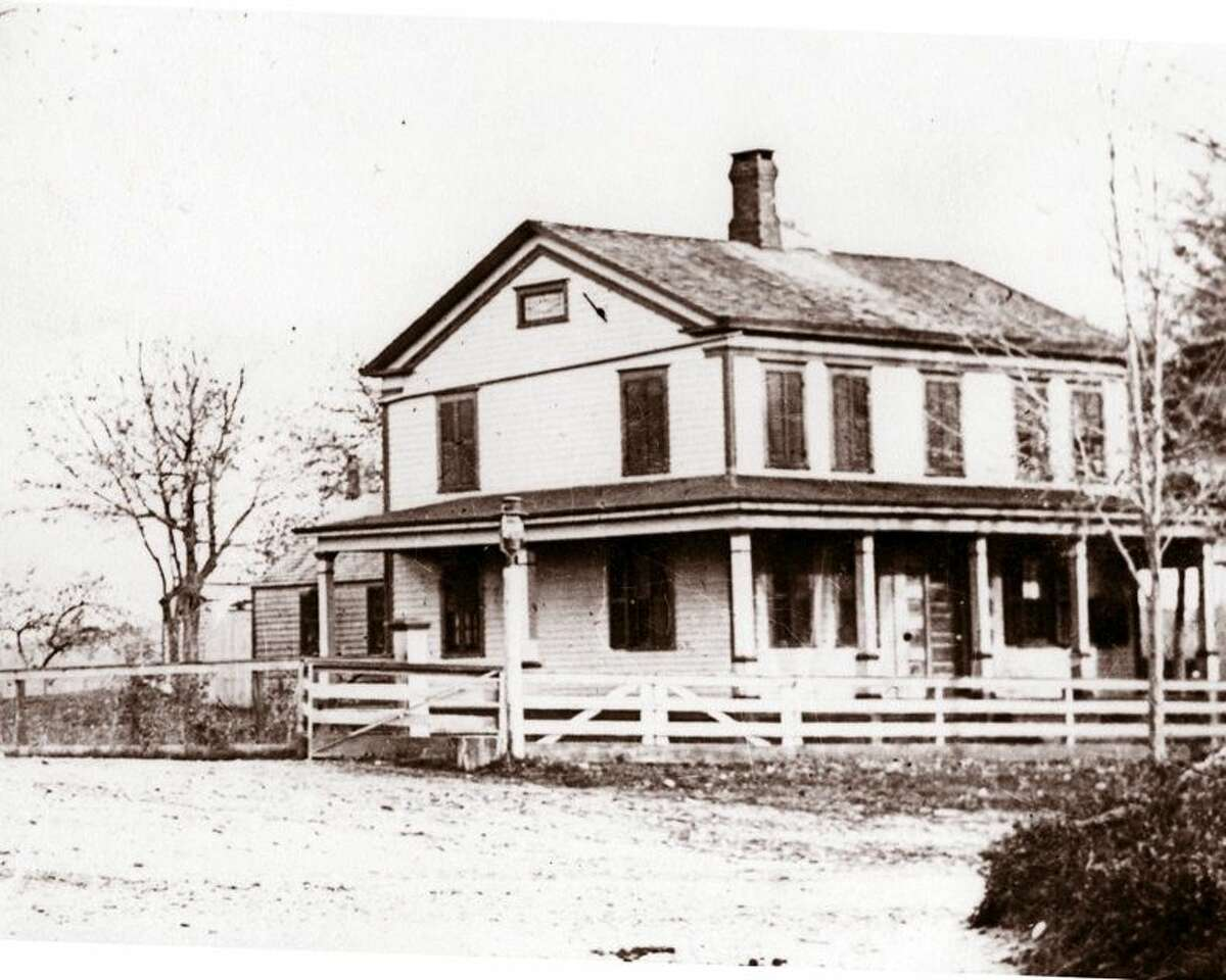 The original Weed Farmhouse in Springdale.