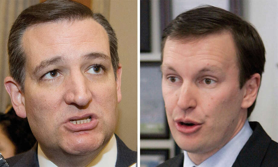 AP photosSen. Ted Cruz, left, and Sen. Chris Murphy, right.