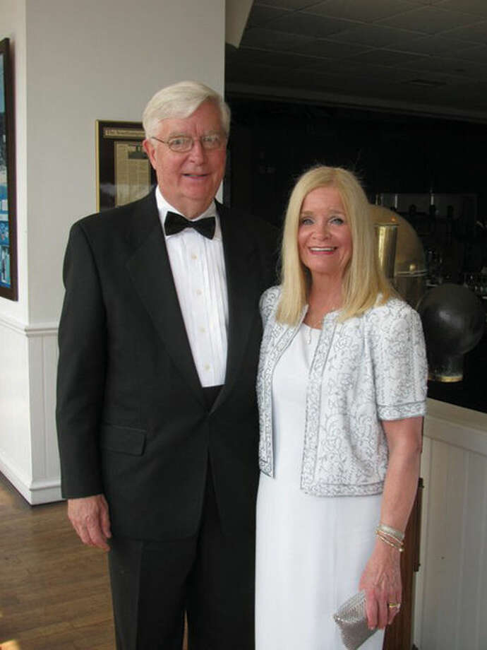 Karen Condron with her husband, Jim.