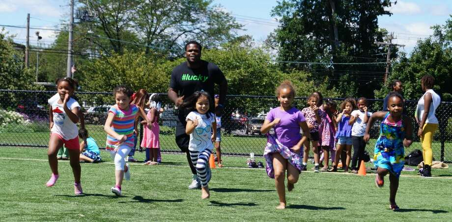 375 Stamford youth enjoy field day at the Boys & Girls Club's summer camp