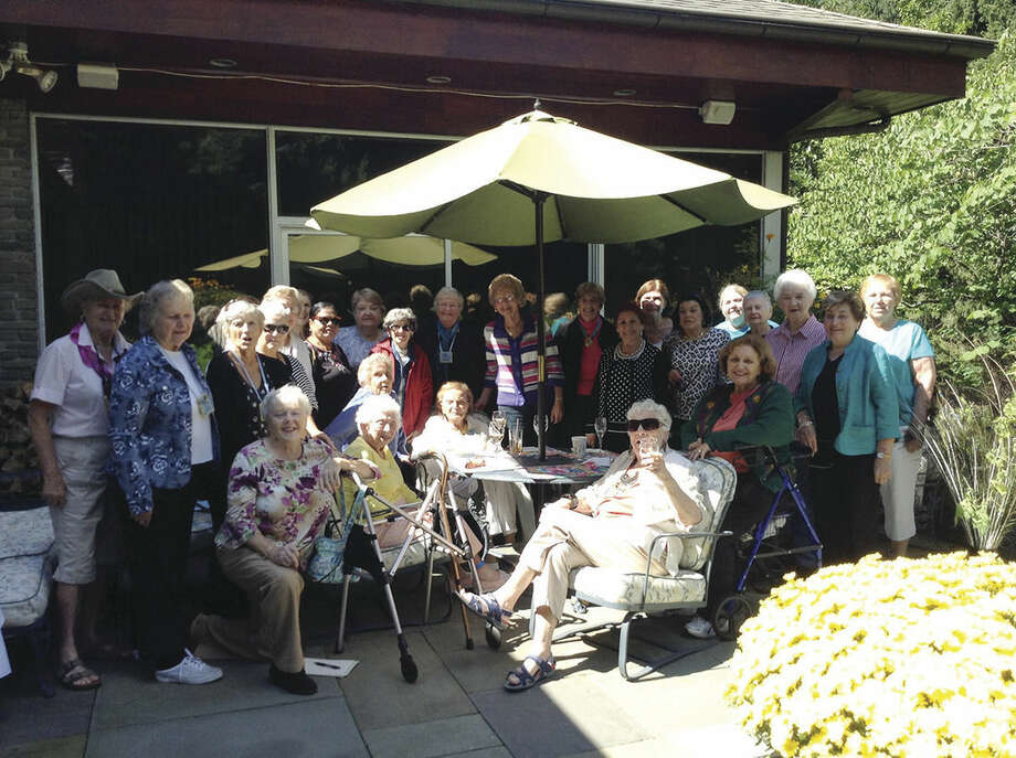 Contributed photoThe Norwalk Woman's Club held their first meeting of the year Sept. 17 at longtime member Merle Baum's home in Norwalk.