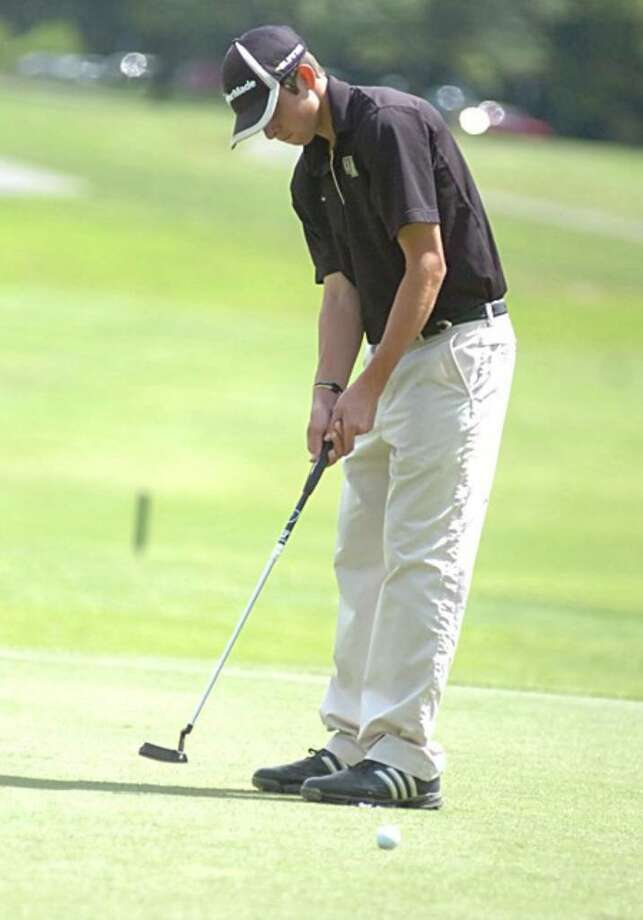 Staples senior captain Dylan Murray helped the Wreckers win the Division I title last year. Murray was the medalist in the team's first two matches, which played a role in Staples starting the year at 3-0. Photo: Contributed Photo