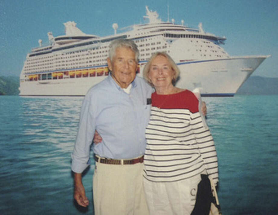 Contributed photoMr. and Mrs. Thomas Gardiner celebrate their 65th wedding anniversary on a cruise to Bermuda.