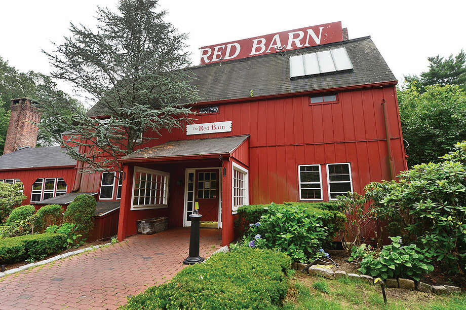 Hour photo / Erik Trautmann The Red Barn restaurant is closed and an etstaet company will be selling off an abundance of antique items that were housed in the restaurant.