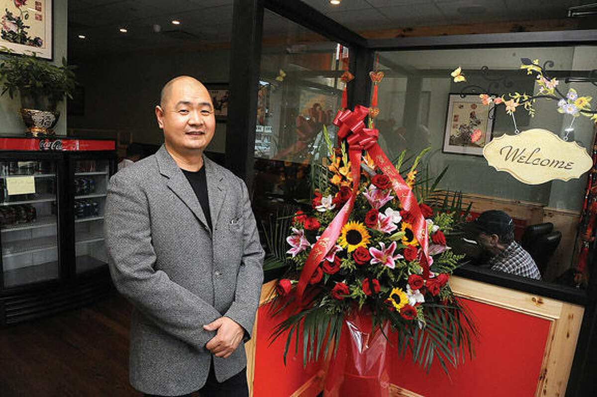 Eric Xie, owner and chef of the new Ren Dumpling & Noodle House, at his location in the Gateway Plaza in Wilton.