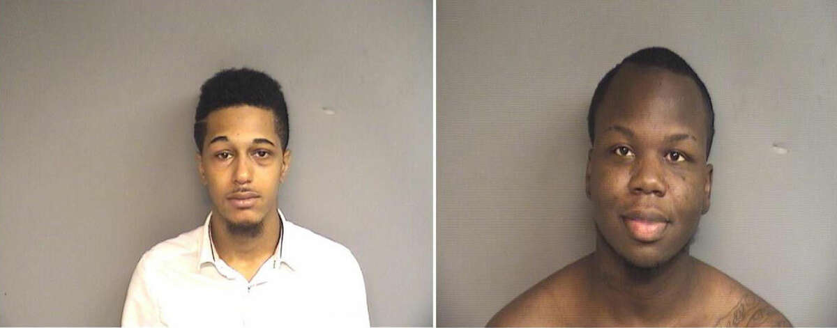 Police arrested Tosheim Newkirk (left) and Reginald Boyd (right) in connection with two separate identity theft investigations.