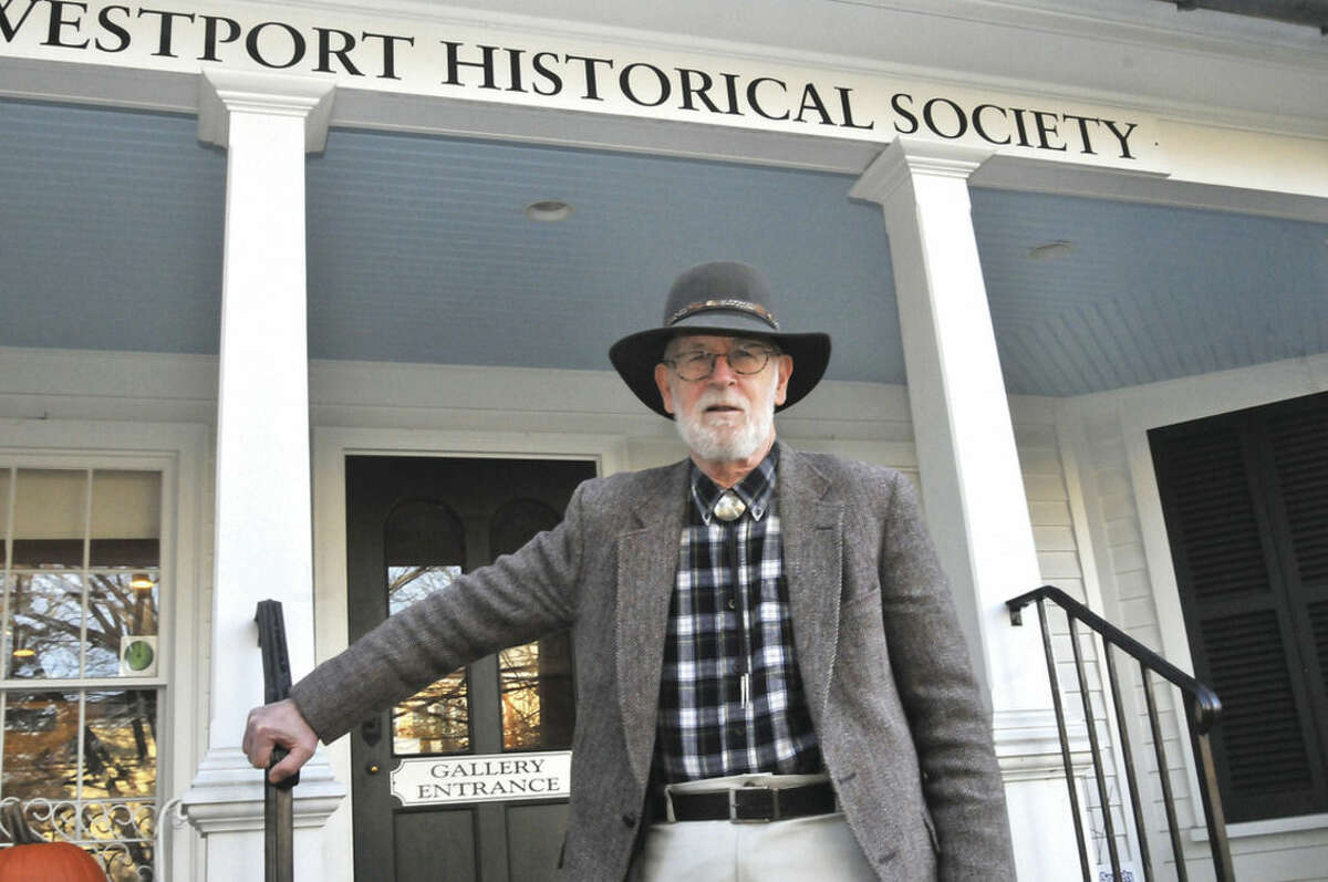 Hour photo/Matthew Vinci Westport Writers' Workshop presents the first Fairfield County appearance by incoming Connecticut Poet Laureate Rennie McQuilkin on Sunday at the Westport Historical Society.