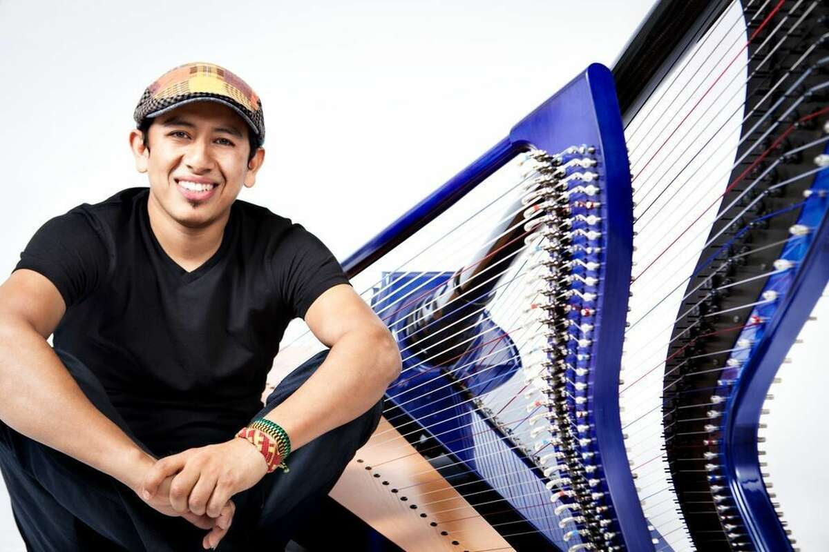 Colombian harpist Edmar Castaneda and his trio perform at Wilton Library's Hot & Cool: Jazz at the Brubeck Room concert Sunday, Nov. 22, at 4 p.m. Reception follows concert. Suggested donation: $10. Registration is highly recommended.