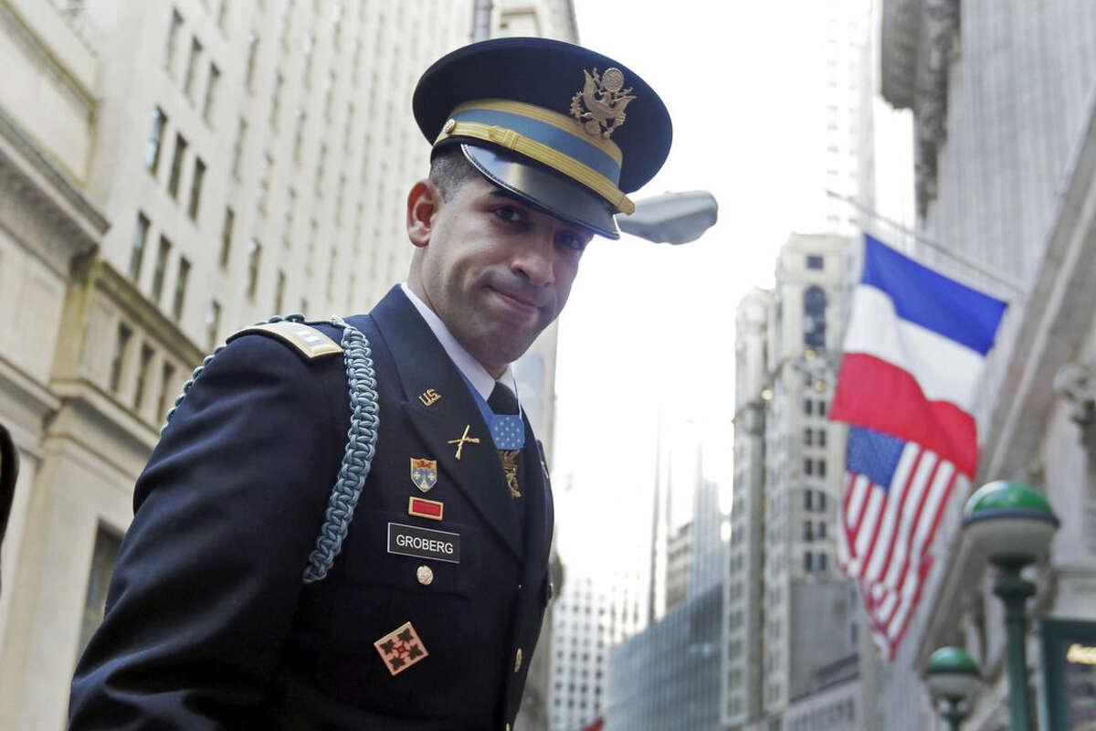 Medal of Honor recipient U.S. Army Capt. Florent