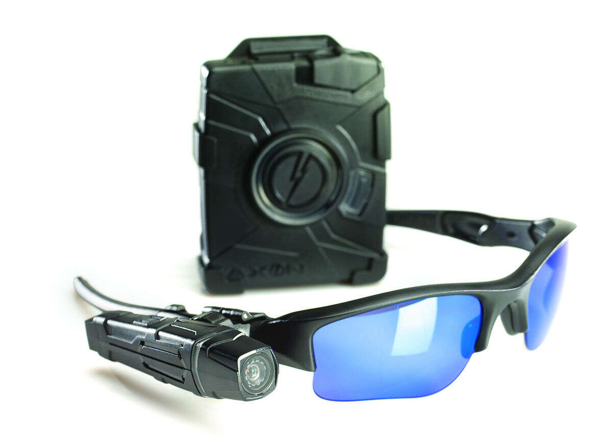 Contributed photo The Norwalk Police Department is moving forward on procuring body cameras like the Axon Body and Flex camera (pictured above).