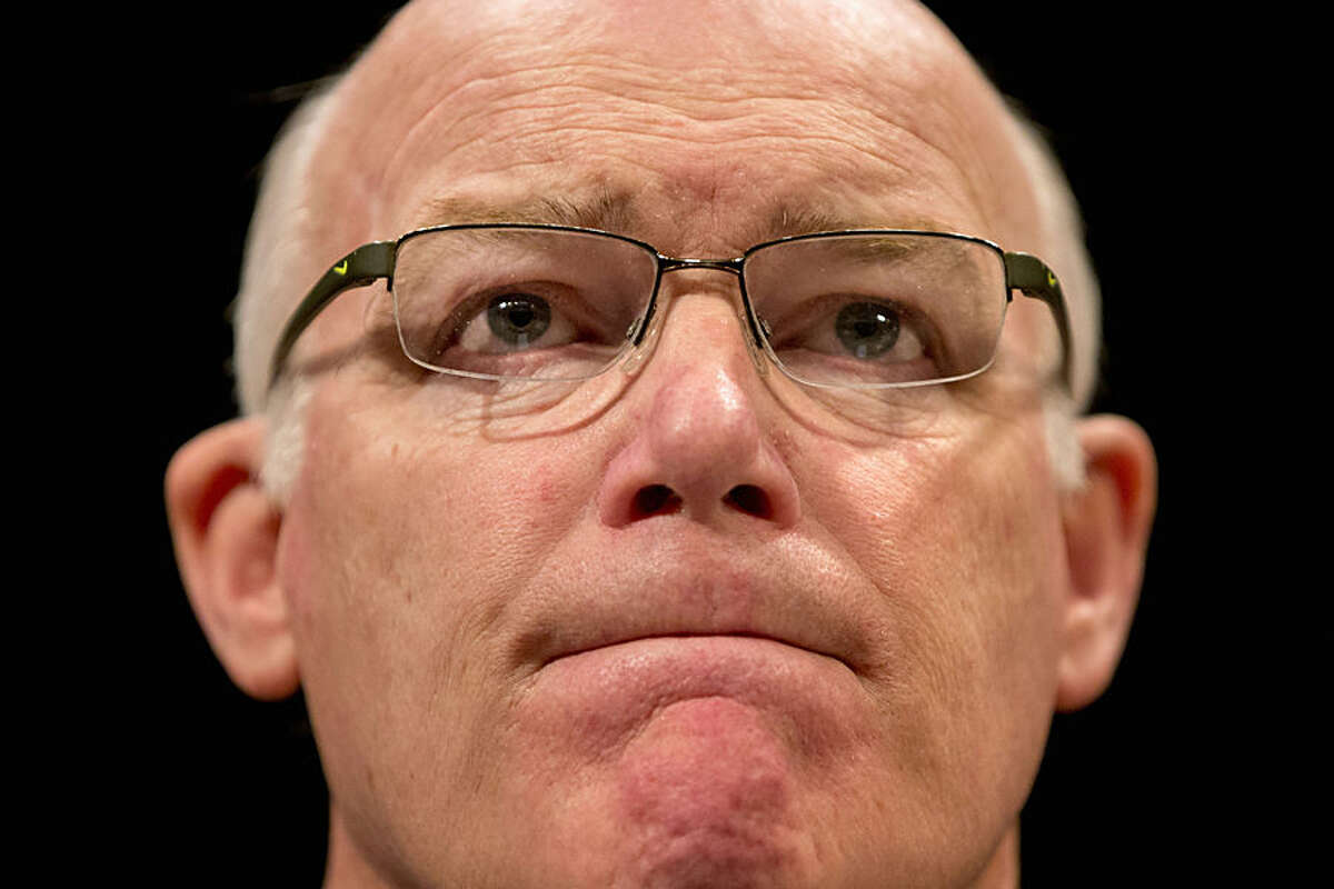Secret Service Director Joseph Clancy listens to opening remarks on Capitol Hill in Washington, Tuesday, Nov. 17, 2015, prior to testifying before the Senate-House Homeland Security joint subcommittees hearing on the Secret Service. (AP Photo/Jacquelyn Martin)
