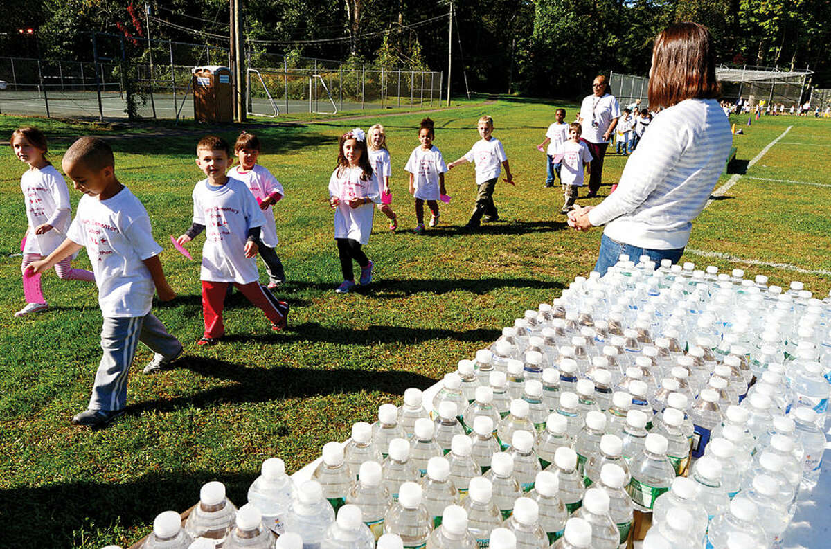 Hour photo / Erik Trautmann Cranbury Elementary School will hold its first annual fundraising Walk-a-Thon. The fundraiser organized by the school's PTO, with participation and pledges driven by the students.