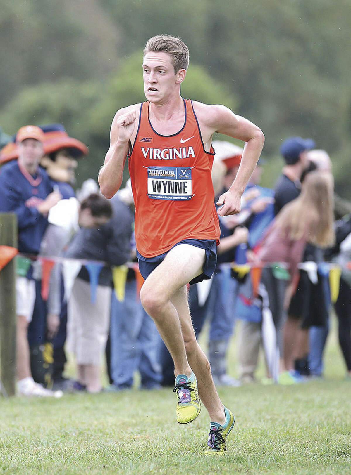 Photo courtesy of UVA Media Relations Westport resident Henry Wynne, a former star runner at Staples High School, is leading the Cavaliers into this Saturady's NCAA Division I championship meet.