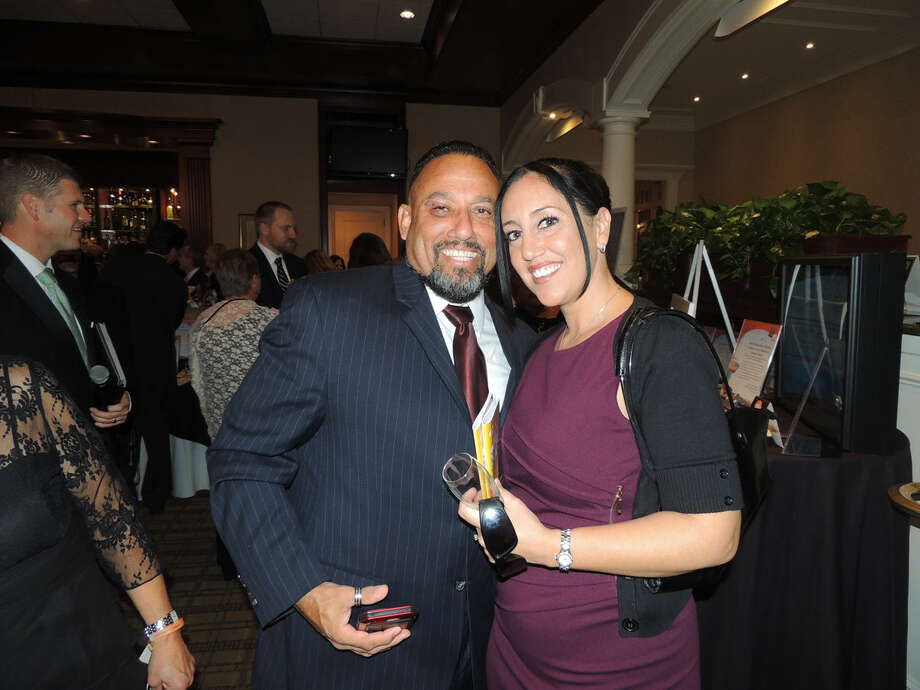 Contributed photo Charlie and Heather Reyes of Norwalk at STAR Gala 2015.