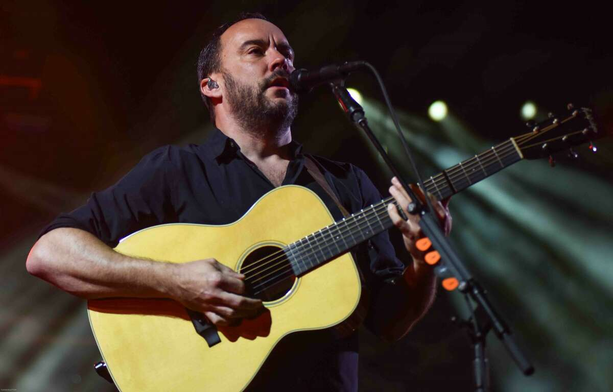 Dave Matthews Band show at the at the XFinity Theater in Hartford.