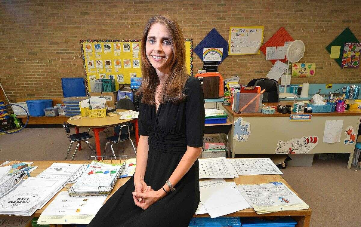 Hour Photo/Alex von Kleydorff New cranbury School principal Kristin Goldstein