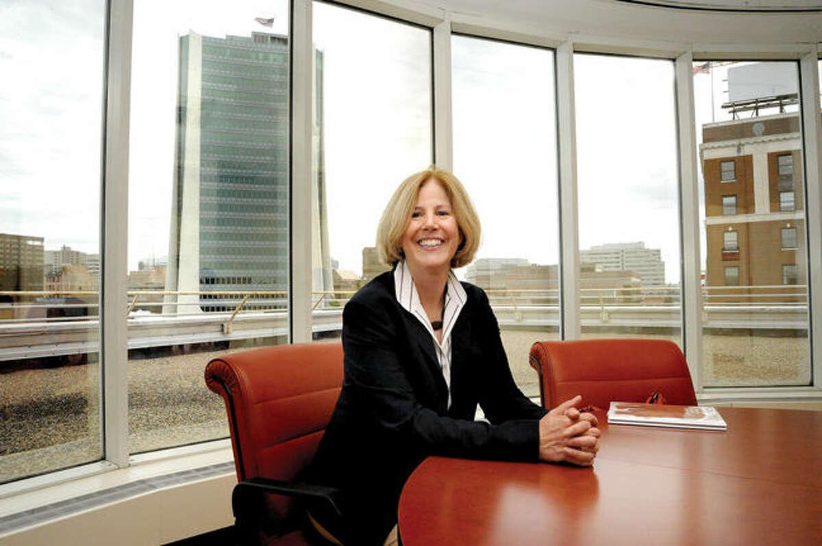 Alice Knapp, the new president of The Ferguson Library in Stamford.