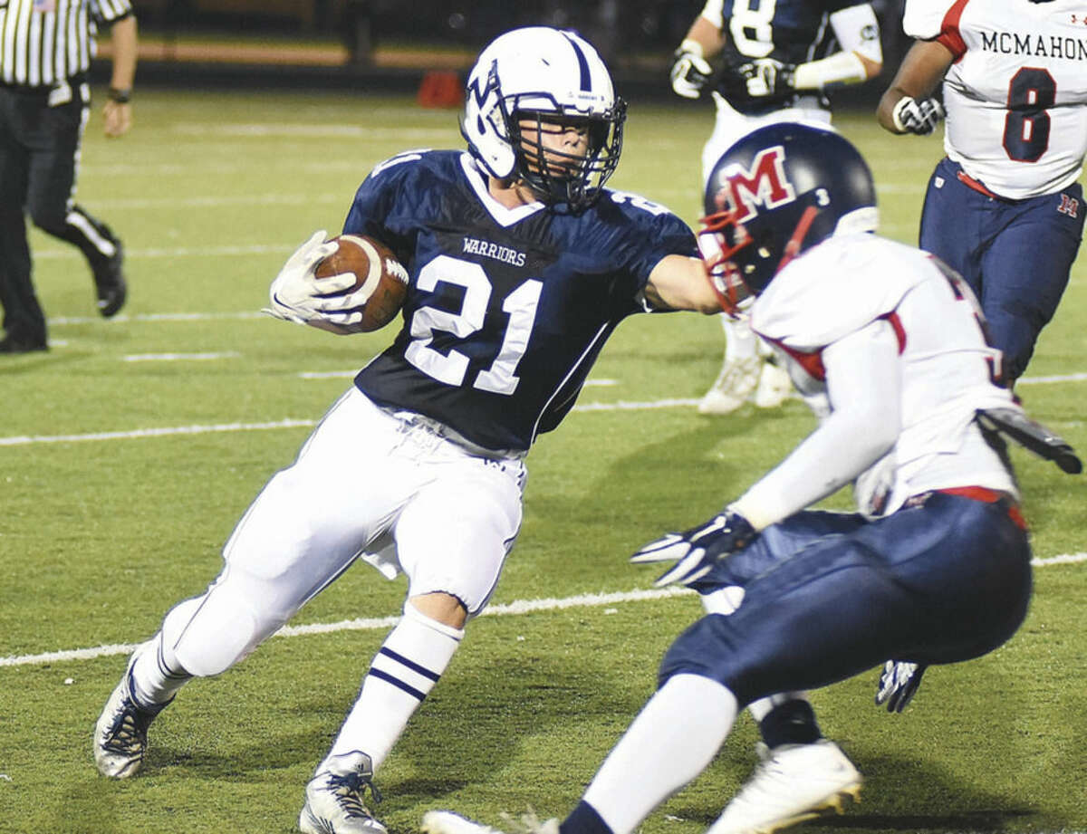 Hour photo/John Nash Will Litton of Wilton was one of the team's young players who stepped up in a key role this season.