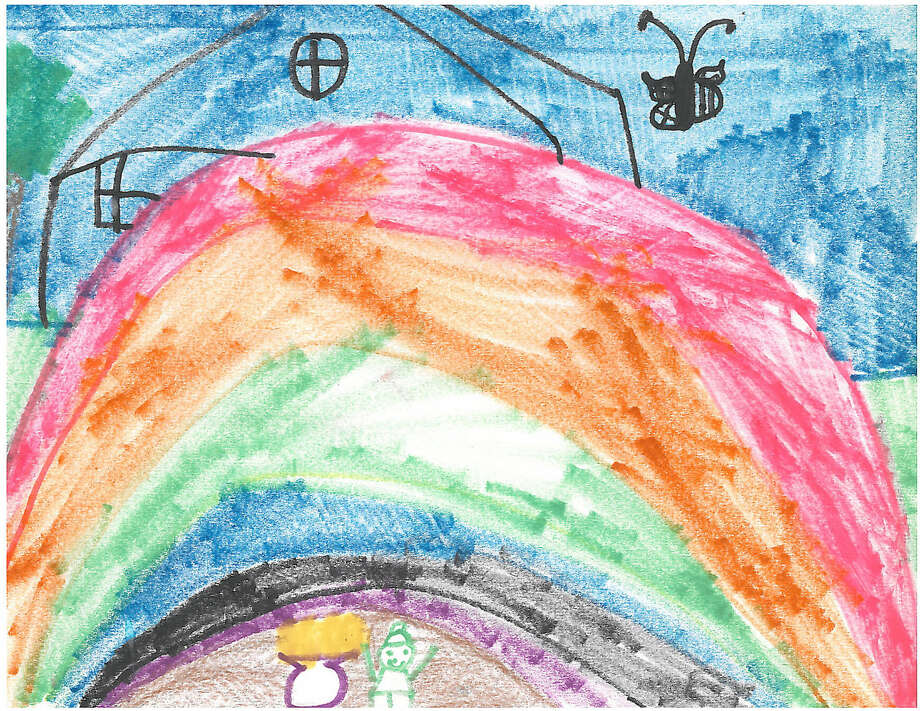 Today's Weather Saturday, Oct. 11, 2014Drawing by Jessica Kish, Grade 1, Silvermine School