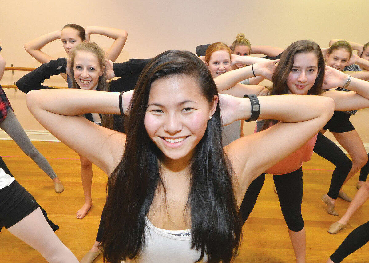 Wilton High School senior Grace Lynch will lead her local dance company before the start of the Dec. 19 basketball game at Madison Square Garden.