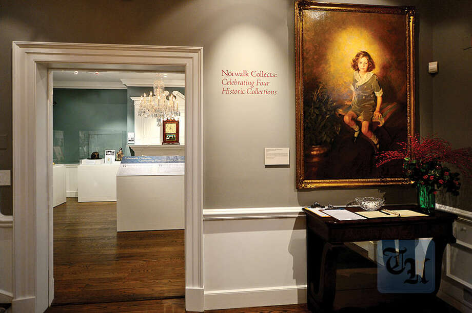 Hour photo / Erik Trautmann The Norwalk Museum is to reopen Saturday at its new location at the Lockwood House adjacent to City Hall.