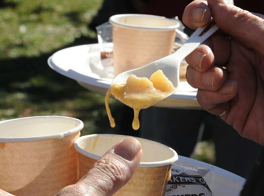 The Chowdafest at Norwalk's Calf Pasture Beach on Sunday. Hour photo/Matthew Vinci