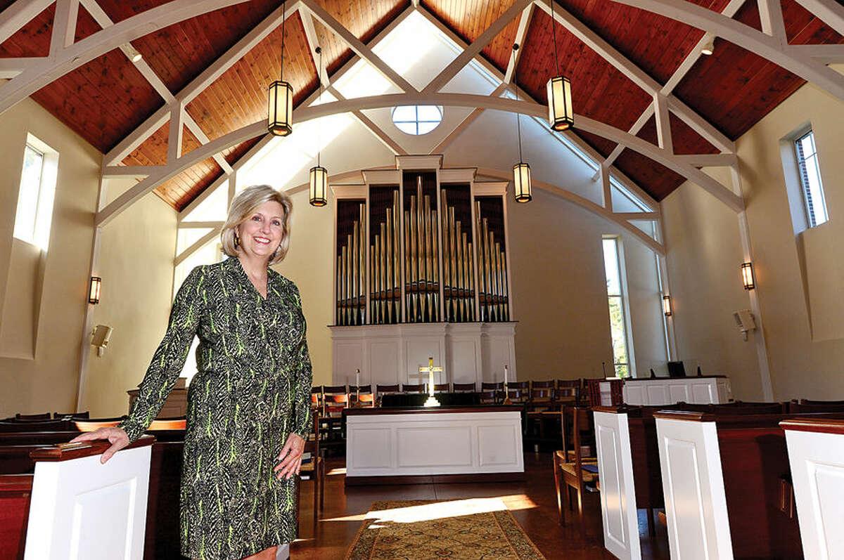 The Rev. Shannon White of Wilton Presbyterian Church.