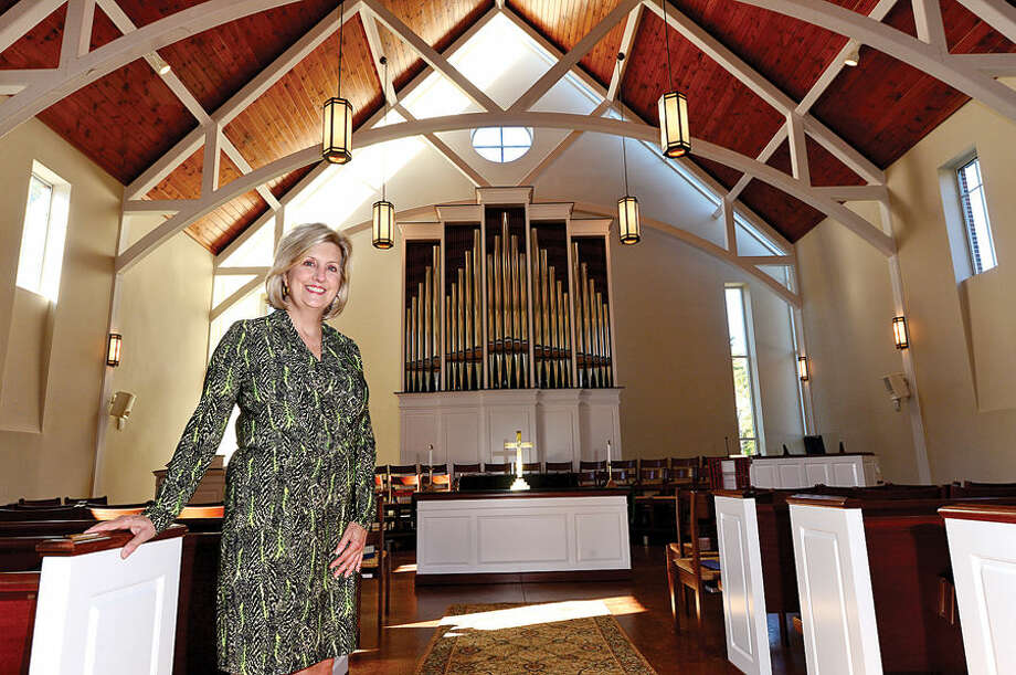 The Rev. Shannon White of Wilton Presbyterian Church.