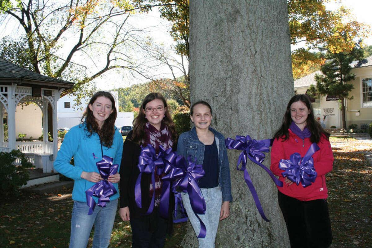 Pictured from left to right: Kaitlin McNamara, Kaitlin Zappaterrini, Nickia Muraskin and Haley MacDonald.