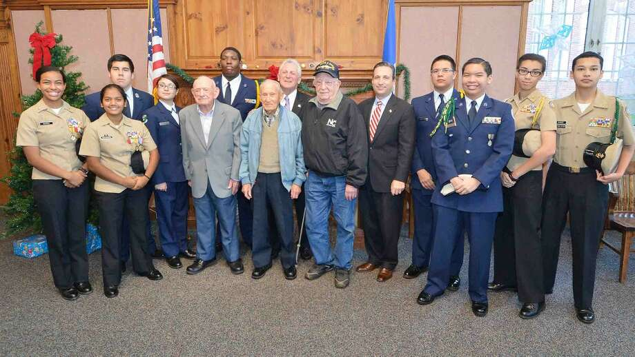 Hour Photo/Alex von Kleydorff Pearl Harbor Remembrance Day event at City Hall
