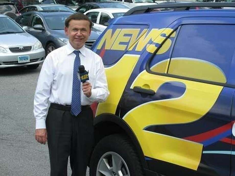 Contributed photoNews 12 Weatherman Paul Piorek said his goodbyes this week, retiring after 25 years of reporting the weather to Fairfield County.