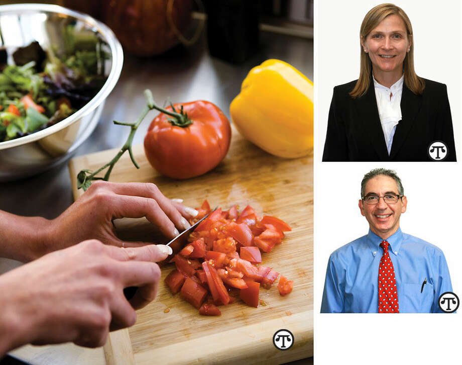 You can give your guests delicious meals designed with good health in mind. Dr. Julianne Dunne Dr. Jonathan Finegold (NAPS)