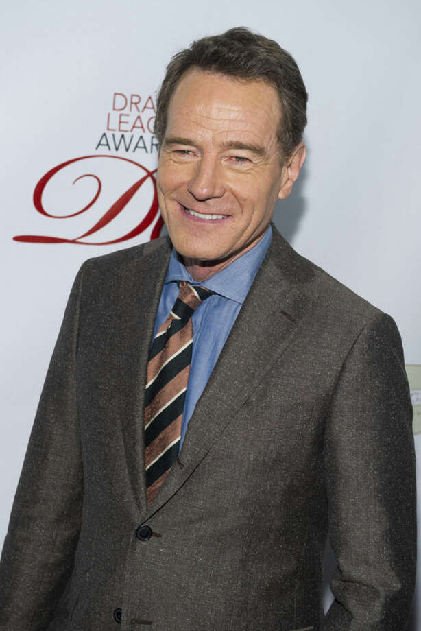 "FILE -- In this May 16, 2014 file photo, Bryan Cranston attends the Drama League Awards in New York. Rapper Iggy Azalea, actor Cranston and the film ""Gone Girl"" are nominees for Logo TV's 2014 New Now Next Awards. The network announced Thursday, Oct. 23, 2014, that singer Sam Smith, the ABC series ""How to Get Away With Murder"" and the play ""Hedwig and the Angry Inch"" are also up for awards. The show will tape Dec. 2 in Miami, and air Dec. 7 on Logo and Dec. 12 on MTV. (Photo by Charles Sykes/Invision/AP, File)"