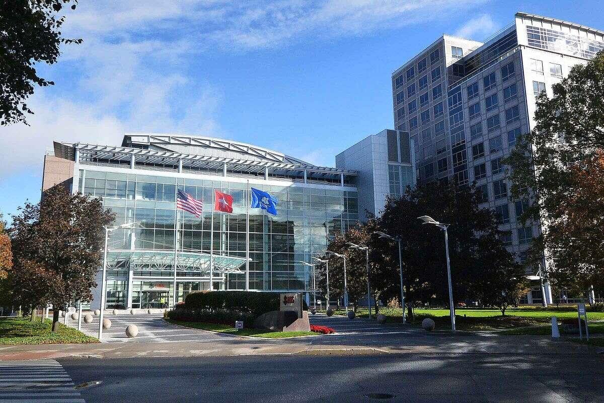 Hour Photo/Alex von Kleydorff The UBS building in Stamford