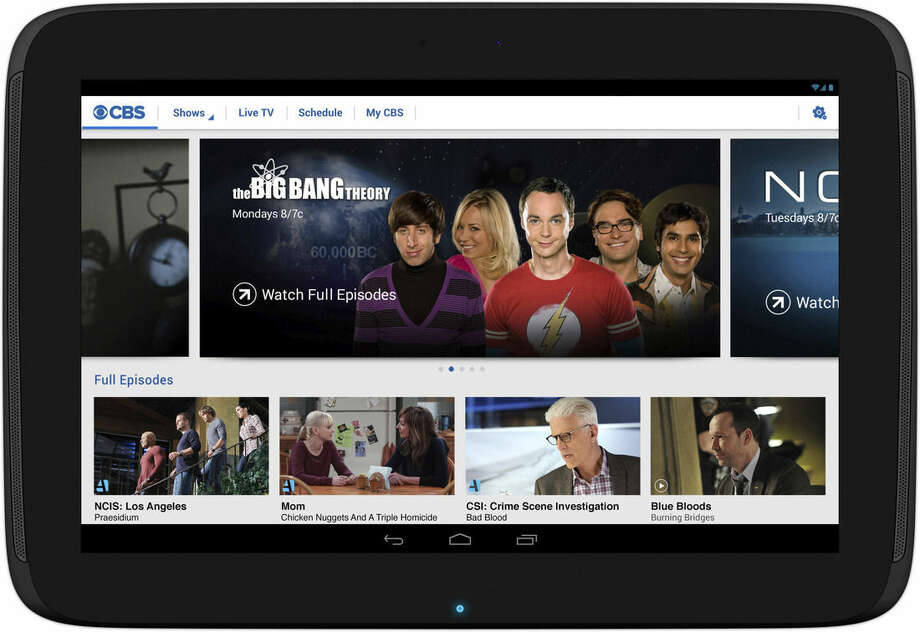 This product image provided by CBS Interactive shows the CBS All Access app. CBS All Access is a digital subscription video on demand and live streaming service for the CBS Television Network (AP Photo/CBS Interactive)