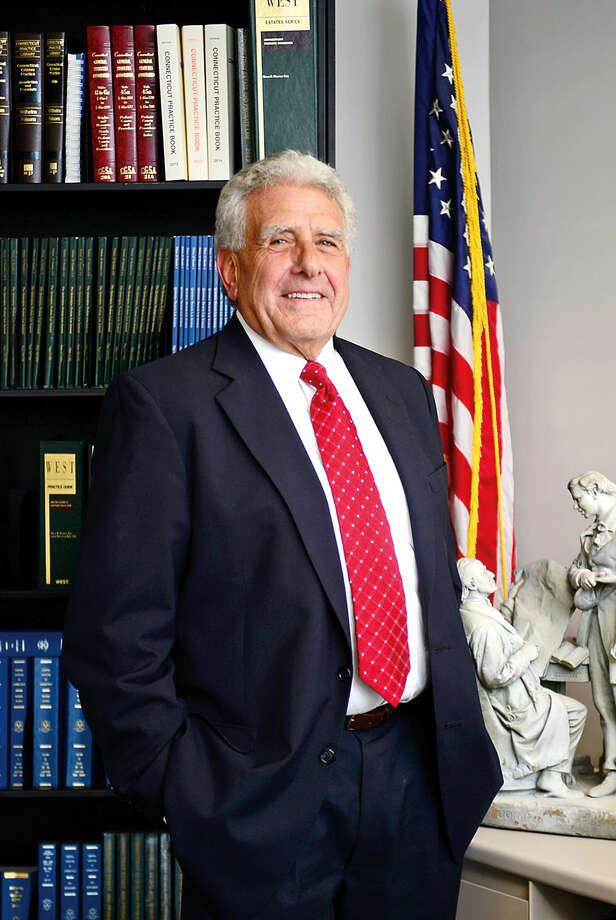 Hour photo / Erik Trautmann Norwalk Judge of Probate, Anthony DePanfilis, seeks another term.