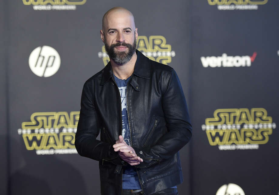 "Chris Daughtry arrives at the world premiere of ""Star Wars: The Force Awakens"" at the TCL Chinese Theatre on Monday, Dec. 14, 2015, in Los Angeles. (Photo by Jordan Strauss/Invision/AP)"