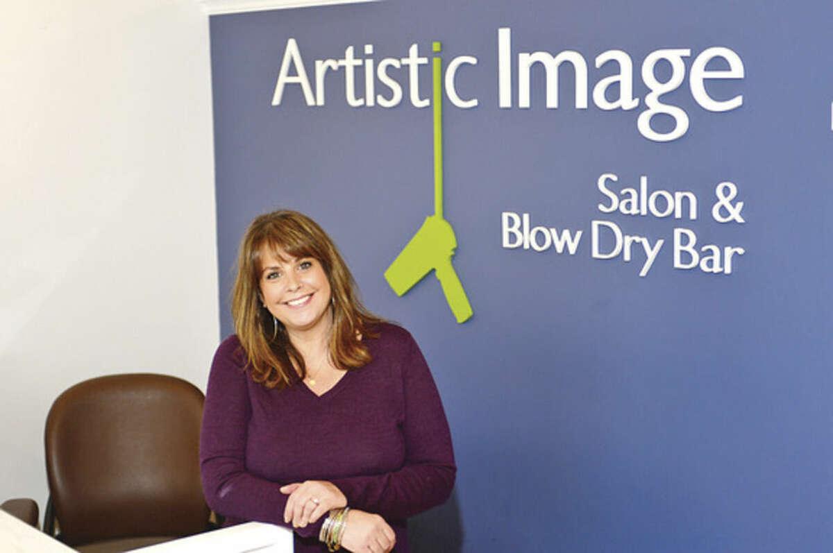 "Hour photo / Erik Trautmann We spend an ""Hour With"" Patty Tischio Gurnari, owner of Artistic Image Salon."