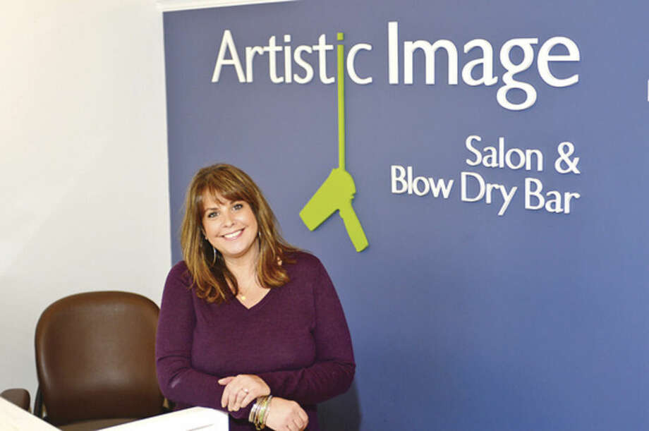 "Hour photo / Erik TrautmannWe spend an ""Hour With"" Patty Tischio Gurnari, owner of Artistic Image Salon."