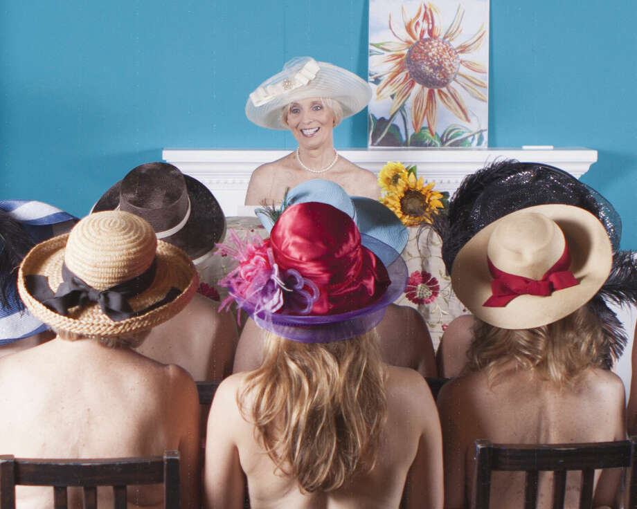 "The cover photo for Curtain Call's ""Calendar Girls"" 2016 calendar, which is being sold as a joint fundraiser for Curtain Call and The Leukemia and Lymphoma Society."