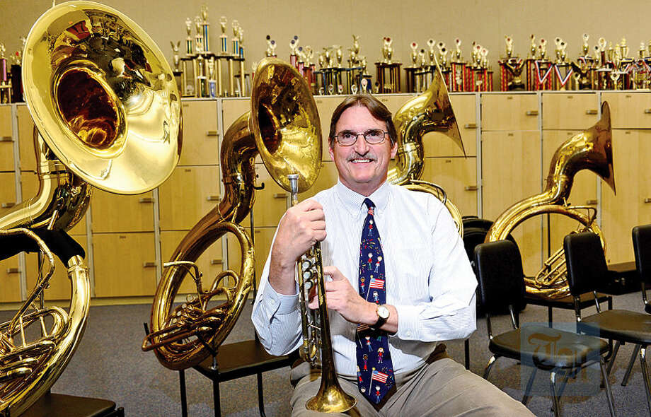 Frank Gawle, band director at Wilton High School, is one of 25 teachers nationally selected as a semifinalist for the Music Educator Award, presented by The Recording Academy and The Grammy Foundation.
