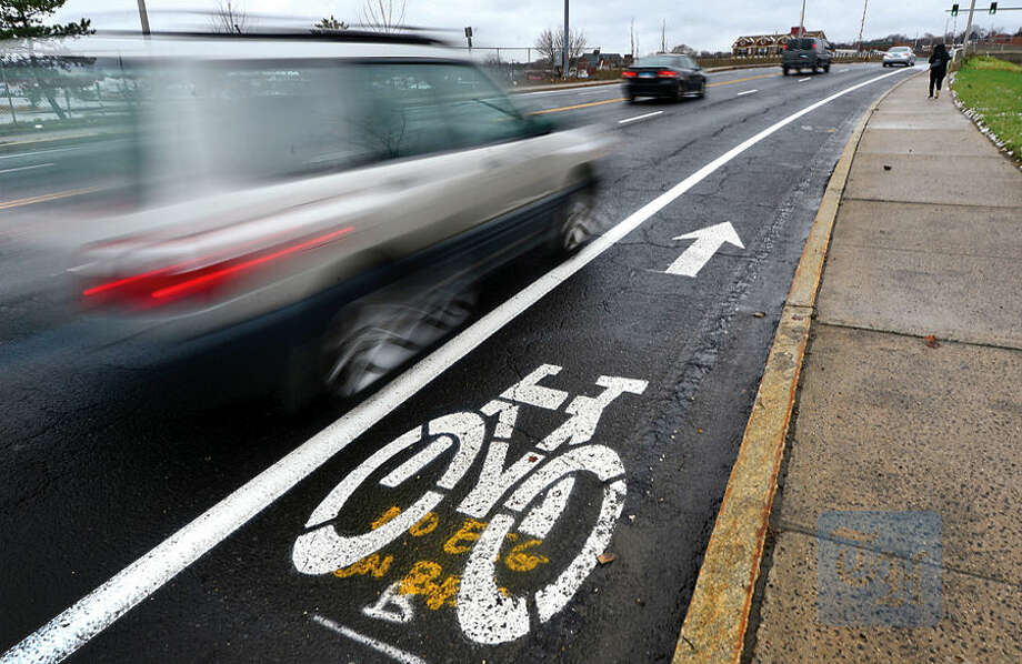 Hour photo / Erik Trautmann The Norwalk Bike/Walk Task Force looks to release strategic plan in January that calls for various city departments to work together on issues involving transportation planning.