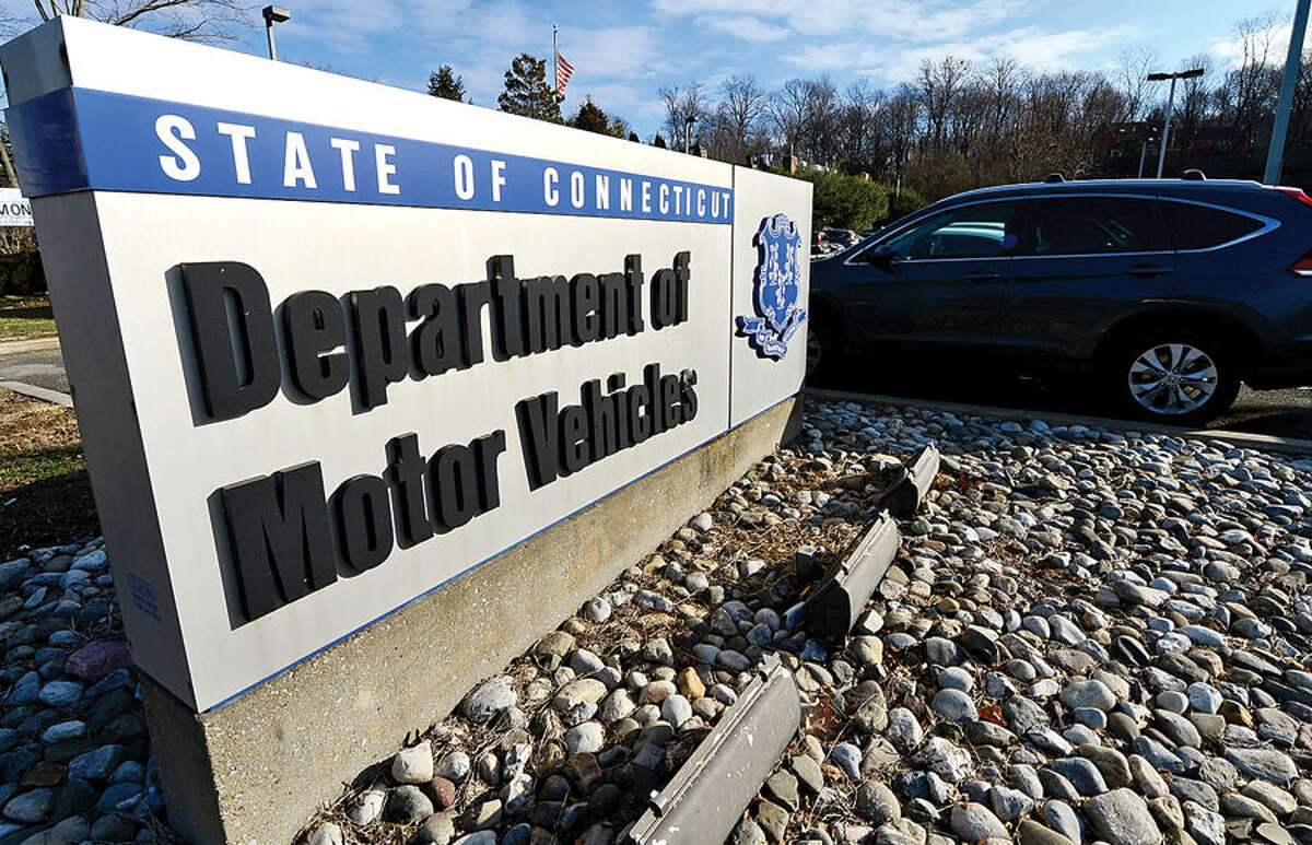 The Connecticut Department of Motor Vehicles in Norwalk.