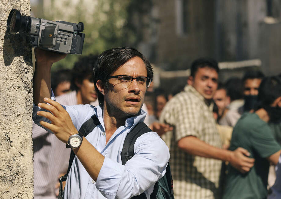 "This image released by Open Road Films shows Gael Garcia Bernal in a scene from the film, ""Rosewater."" (AP Photo/Open Road Films, Laith Al-Majali)"
