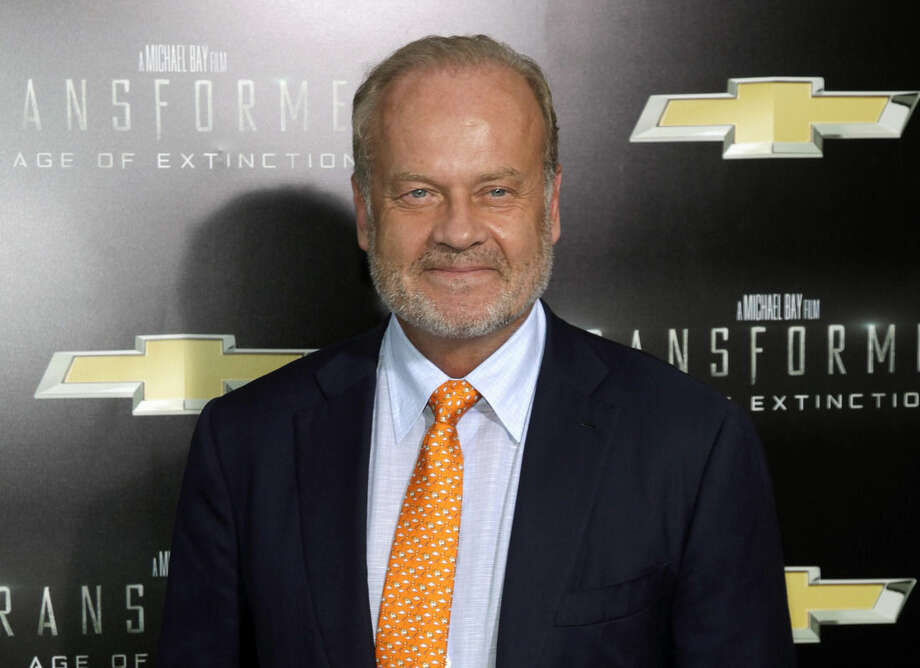 "FILE - This June 25, 2014 file photo shows actor Kelsey Grammer at the premiere of ""Transformers: Age of Extinction"" in New York. Grammer is returning to Broadway in the musical ""Finding Neverland."" Producers said Thursday, Nov. 13, 2014, that the ""Cheers"" and ""Frasier"" will join ""Glee"" star Matthew Morrison in the musical directed by Diane Paulus that explores the Peter Pan book's back story. Previews begin in March. (Photo by Andy Kropa/Invision/AP, File)"