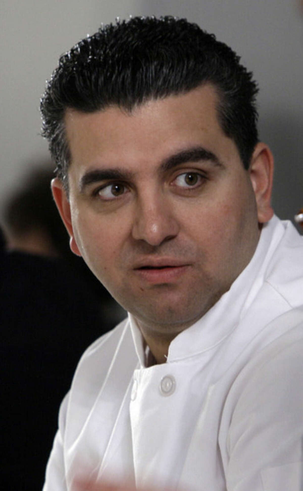 FILE - In this Feb. 17, 2011 file photo, Buddy Valastro attends the presentation of the fall 2011 collection of designer Isaac Mizrahi during Fashion Week in New York. The New York Police Department says