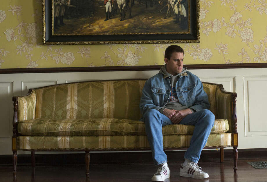 "This image released by Sony Pictures Classics shows Channing Tatum in a scene from ""Foxcatcher."" (AP Photo/Sony Pictures Classics, Scott Garfield)"