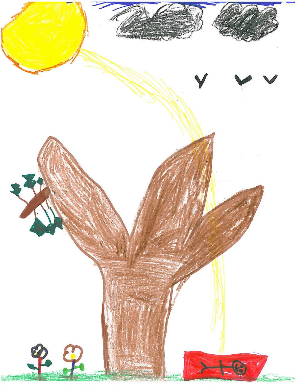 Weather Drawing 11-14-14 Jakara Murray-Leach, Kendall Elementary School